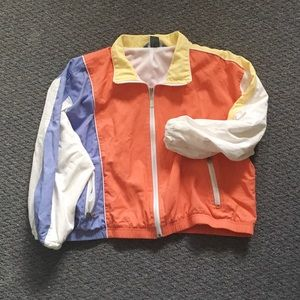 Vintage 90's Colorblock Windbreaker by Koret